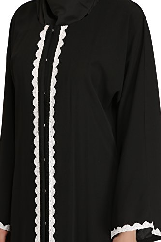 MyBatua muslim dubai Frauen schwarze casual & formale Abnutzung abaya burqa Kleid AY-526