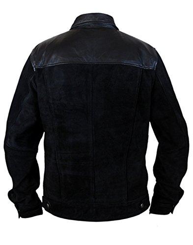 Leatherly Veste Homme Fast And Furious 6 Premier Vin Diesel Faux (synthétique) Cuir Veste