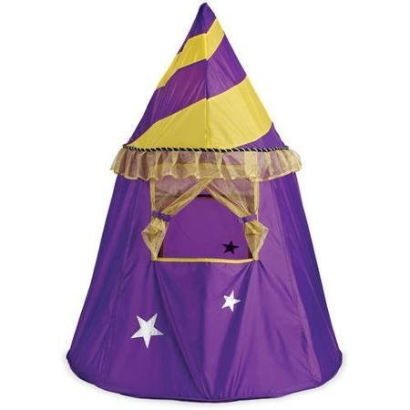 Manhattan Toy Puppet Playhouse Theater Actvity Tent Durable Pretend Play for Boys and Girls