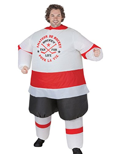 Gemmy Inflatable Hockey Player Adult]()