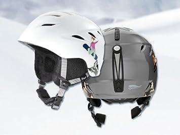 Lidl Crivit 53269 - Casco de esquí y snowboard para niño gris Talla:XS (