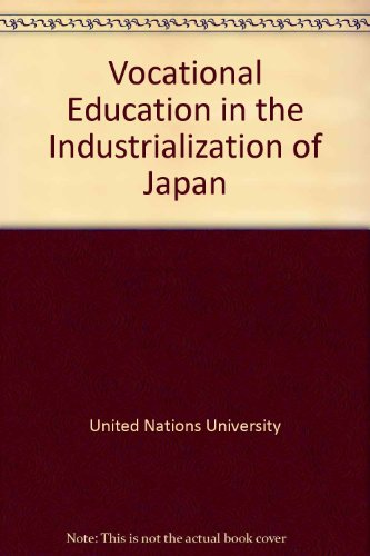 Vocational Education in the Industrialization of Japan/Sales No. E.87.Iii.A.1
