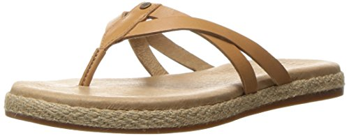 UGG Women's Annice Flip Flop, Cafe, 9 US/9 B (Ugg Women Sandals)