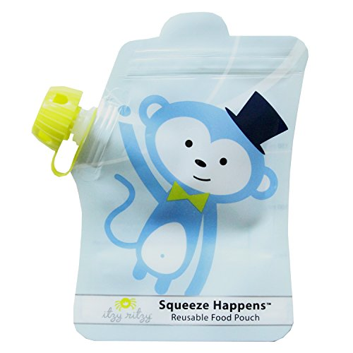 itzy-ritzy-squeeze-happens-reusable-food-pouches-blue-monkey-6-ounce