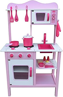 Berry Toys My Cute Pink Wooden Play Kitchen Buy Online At Best
