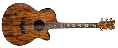Dean Performer Koa Acoustic-Electric Guitar - Gloss Natural