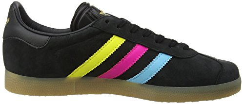 adidas Men's Gazelle Trainers Multicolour (Core Black/Bright Cyan/Shock Pink) best prices clearance Cheapest 100% guaranteed cheap online shop offer sale online Lx3AN7f9