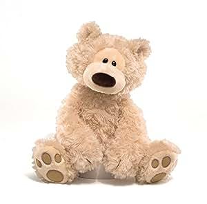 Amazon.com: Gund Philbin Teddy Bear Stuffed Animal, 12 inches: Toy ...
