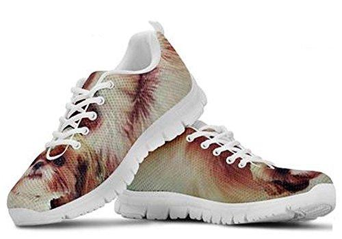 Cute Dog Sneakers Casual Brand Shih Print Men's 5 Tzu 7 g4tdqtw