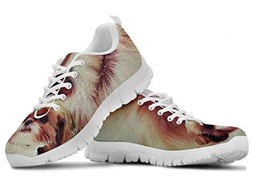 Dog Men's Shih 5 7 Sneakers Print Tzu Casual Cute Brand xqpXwztX