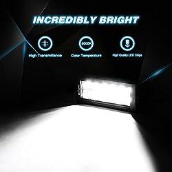 Nilight LED Light Bar 2PC 7Inch 36W Spot LED Work