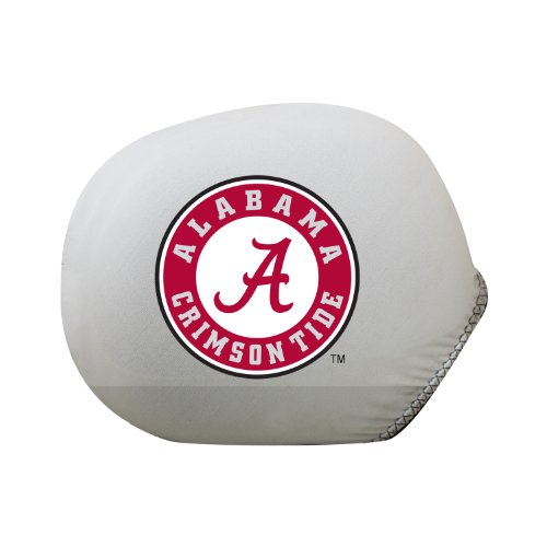 - Pilot Alumni Group SMC-908S Mirror Cover with Logo (Collegiate Alabama Crimson Tide), Small