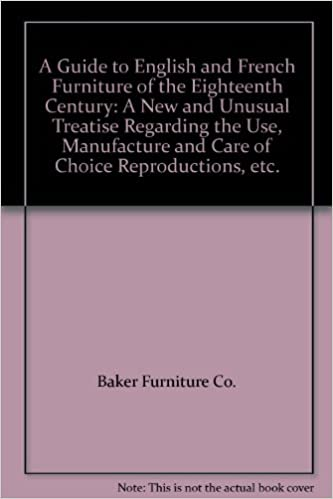 Books Fast Deliver Rare 1940 Guide To English French Furniture Of The 18th Century Baker Furniture
