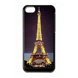 Eiffel Tower theme for iPhone 5C hard back shell