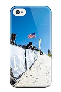 [JPgtfAP7704etkzp]premium Phone Case For Iphone 4/4s/ Shaun White Snowboarding Tpu Case Cover