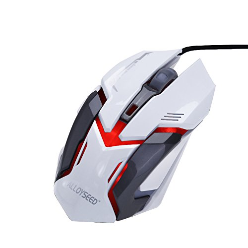 ALLOYSEED 7 Buttons Wired USB Gaming Mouse - 3