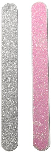 Amscan Festive Christmas Glittered Nail File Party Favour, 5 1/8
