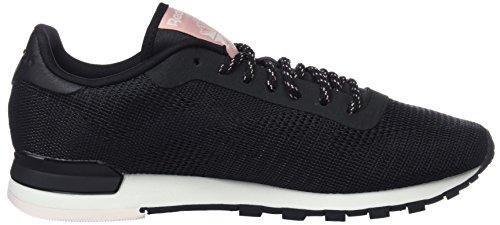 Sneakers pale Reebok Basses black Pink Classic Flexweave chalk chalk Femme Pink Noir qRRn8EWUw