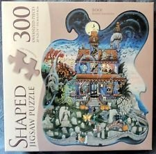 Puzzle Makers Puzzle BOO 300 Pieces Kathy Jakobsen SHAPED