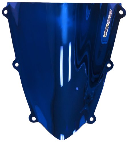 - Yana Shiki HW-1008CBU R Series Chrome Blue Windscreen for Honda CBR 600RR