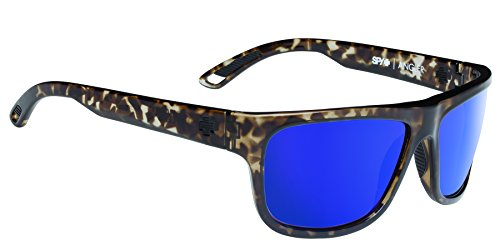 Spy Optic Angler Flat Sunglasses, 59 mm (Grey - Spy Sunglasses Tortoise