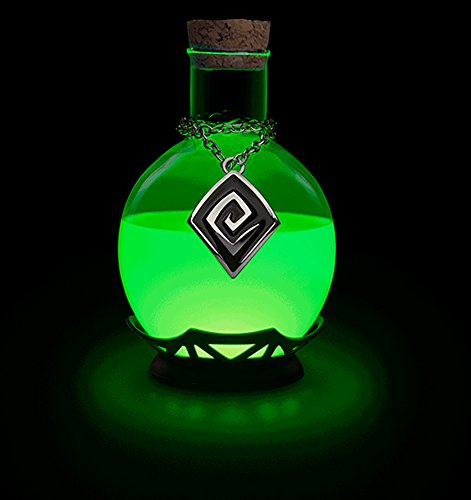 Thinkgeek led potion desk lamp color changing led potion desk lamp amazon com
