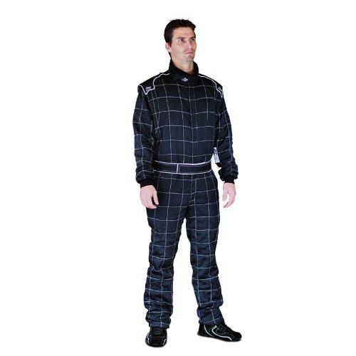 K1 Race Gear 20-VIN-N-3XL Vintage Black XXX-Large SFI Rated Auto Racing Nomex Fire Suit