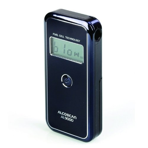 AlcoMate AL9000 AccuCell Professional Digital Breathalyzer with Fuel Cell Sensor by AlcoMate