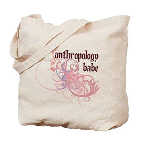 CafePress–Antropologia Babe–Borsa di tela naturale, panno borsa per la spesa