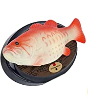 Big Mouth Billy Bass The Singing Funny Electric Fish Music Box Music Plastic Simulation Fish with Singing and Beating Motion Activated Strange Spoof Singing Fish Toys