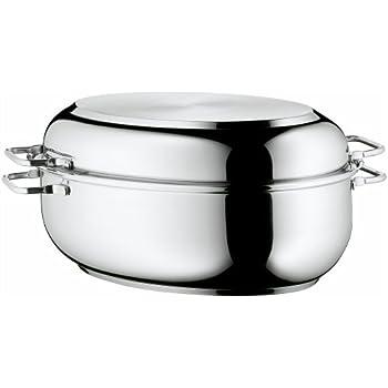 Amazon Com Wmf Stainless Steel Deep Oval Roasting Pan 16