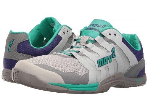 芝生血色の良いクリスマスInov-8(イノヴェイト) レディース 女性用 シューズ 靴 スニーカー 運動靴 F-Lite 235 V2 - Light Grey/Teal/Purple [並行輸入品]