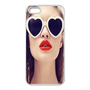Custom red Lips Shell Case, DIY red Lips Cover for iPhone 5,5S