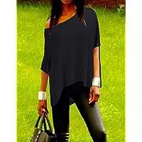 XH@G De las mujeres Camiseta - Separado Escote