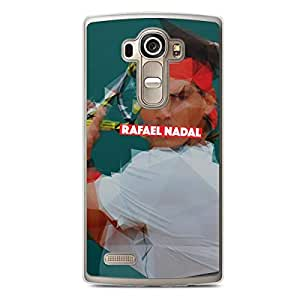 Rafael Nadal LG G4 Transparent Edge Case - Heroes Collection