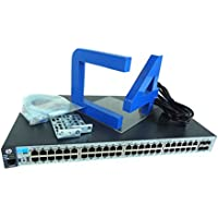 HP 2530-48G Switch 2530-48G Switch 48 Ports, Manageable 48 x RJ-45, 4 x Expansion Slots, 10/100/1000 Base-T-Desktop, Rack-mountable, Wall Mountable (J9775A)