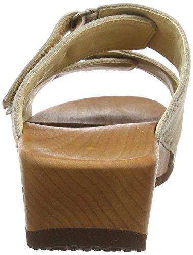 WoodyMelina - Mules Mujer Beige - Beige (Nocciola)