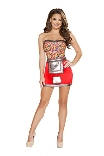 1 Piece Jelly Bean Candy Dispenser Dress Party Costume (Jelly Bean Halloween Costume)