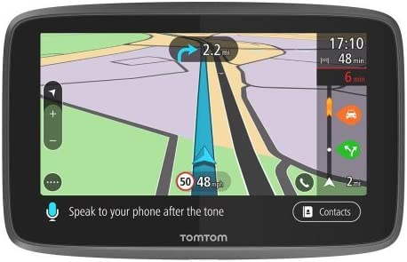 TomTom GO Professional 6250, Navegación Profesional para Vehículos Grandes, Tomtom Traffic para toda la vida a traves de SIM, 6pulgadas, Negro