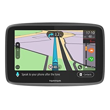 TomTom Go Professional 6250 GPS Truck Sat Nav with Full European (Including  UK) Lifetime Maps and Traffic Services Designed for Truck, Coach, Bus,