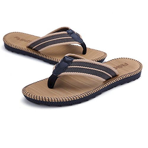 6416144678c Jual New Men s Flip Flops Beach Sandals Lightweight EVA Sole Comfort ...