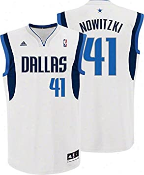 NBA Dirk Nowitzki, Dallas Mavericks Swingman Jersey Camiseta - Nuevo, Weiß: Amazon.es: Deportes y aire libre