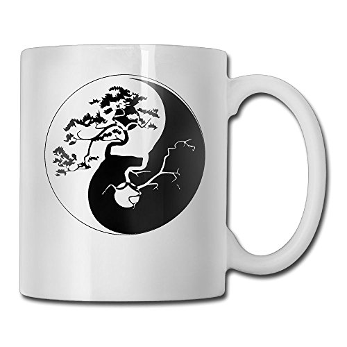 Bonsai Tree Taiji Fashion Coffee Cup Porcelain Mugs
