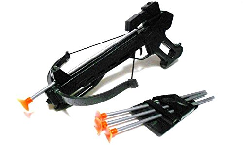 Toy Crossbow Play Set W/ 4 Soft Darts (Toy Crossbow)
