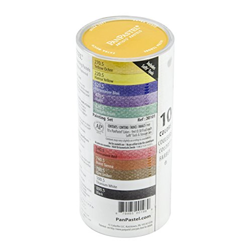 Panpastel PPSTL10-30101 Ultra Soft Artist Pastel Painting Set, 10-Pack