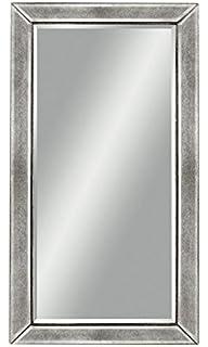 48 inch mirror 42 inch bassett mirror beaded wall mirror 48inch silver leaf amazoncom antique