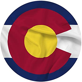 Colorado State Flag 3x5 - 100% Made In USA using Tough, Long Lasting Nylon Built for Outdoor Use, UV Protected and Featuring Authenticated, Proportional Design at Precise Specifications and Quadruple Stitching on the Fly End - Satisfaction Guaranteed