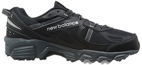 New Balance Herren MT410V4 Trail-Laufschuh Schwarzes Silber