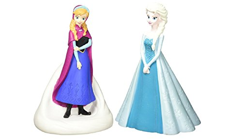 Peachtree Playthings Frozen Coin Bank 2 Pack Anna & Elsa (Piggy Banks Disney)