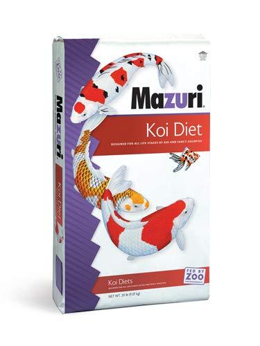 Mazuri Koi Platinum Nuggets, 20 lb (Fish Nuggets)